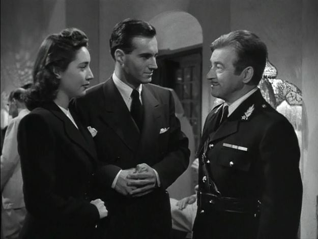Joy Page, Helmut Dantine, Claude Rains: Rains: Not here. Come to my office in the morning. Dantine: We'll be there at six! Rains: I'll be there at ten.