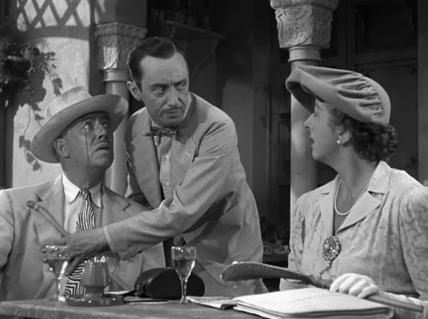 Gerald Oliver Smith, Curt Bois, Norma Varden: 'I beg of you, monsieur: watch yourself! Be on guard! This place is fuuuull of vultures! Vultures everywhere . . . everywhere!""