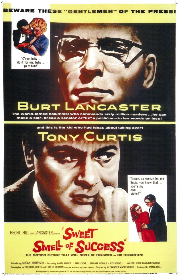 Sweet Smell of Success: Original poster.