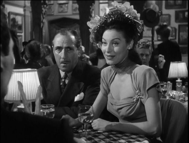 John Miljan as Jake the Rake; Ava Gardner as Kitty Collins.