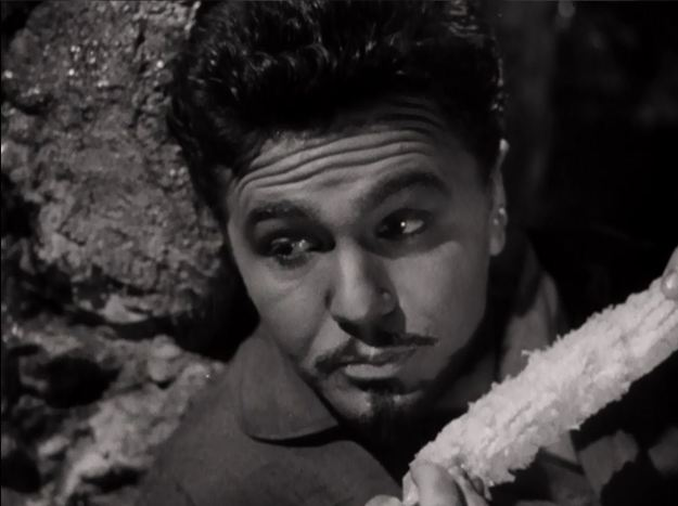 Oh, for corn sake, Porfirio! John Garfield as General Dìaz.