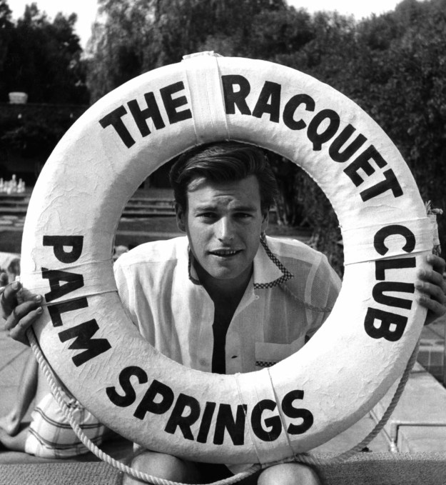 Ahoy, there! Robert Wagner in 1956.