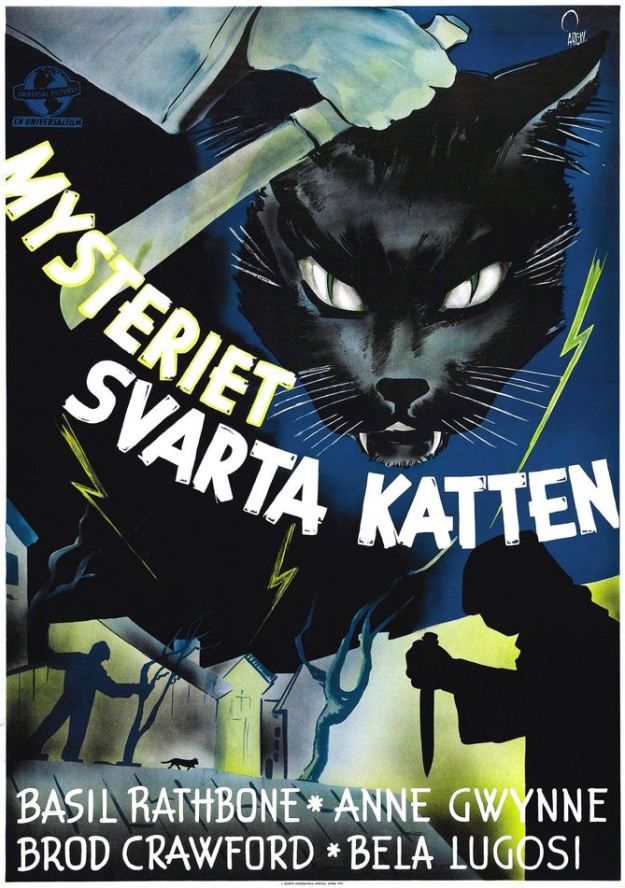 Poster for Swedish release.