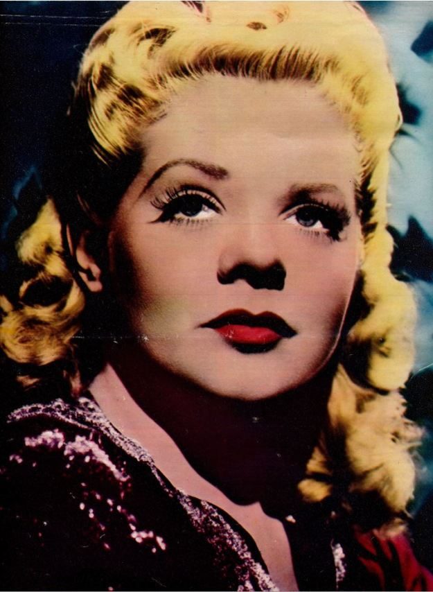 Alice Faye: Round the block, but not through the mill.
