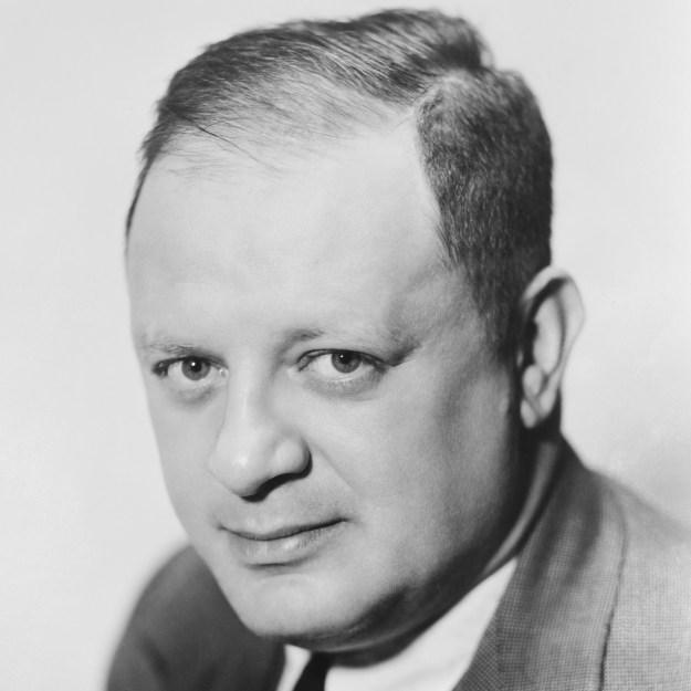 Herman J. Mankiewicz, apparently pretty sober.