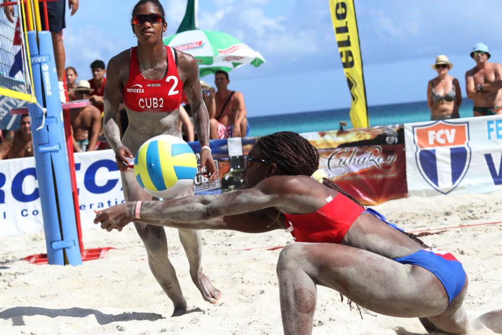 Torneo NORCECA de voleibol de playa. Foto: Raúl H. Calvo