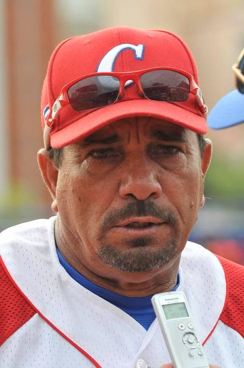 Jorge Lamas de Río, director técnico de la selección femenina de softbol. Foto: josé Raul Rodríguez Robleda