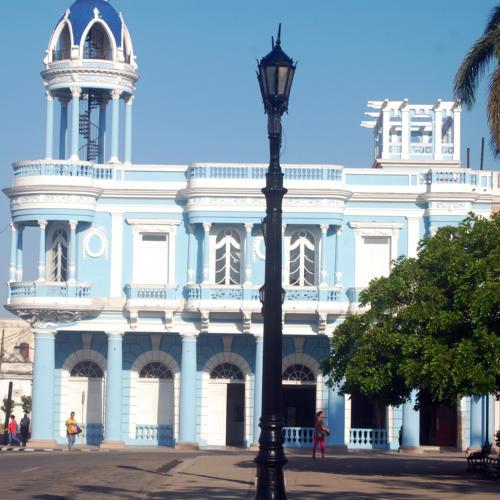 En el emblemático Palacio Ferrer funciona la Casa de Cultura Benjamín Darte, en la Perla del Sur. / Foto: Barreras Ferrán