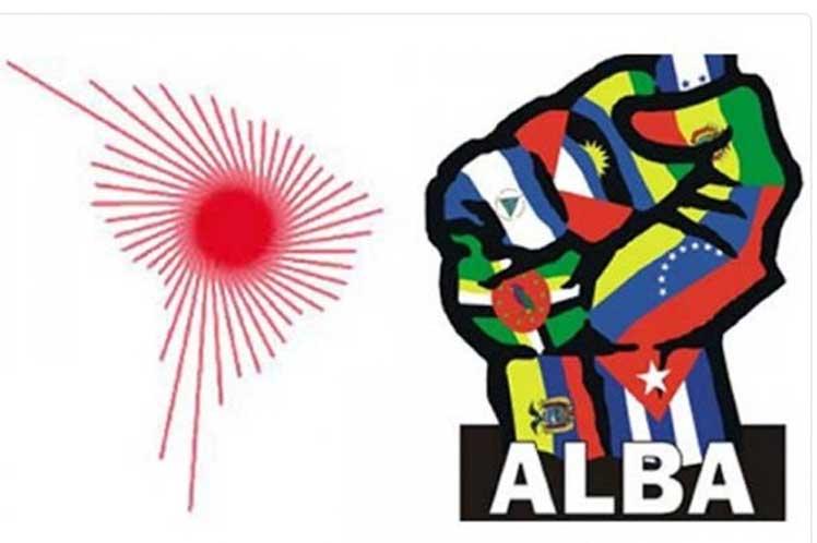 """El ALBA-TCP instó a los pueblos del mundo a pronunciarse en contra de las acciones """"pérfidas e inmorales"""" del Gobierno de Estados Unidos contra Cuba y Venezuela."""