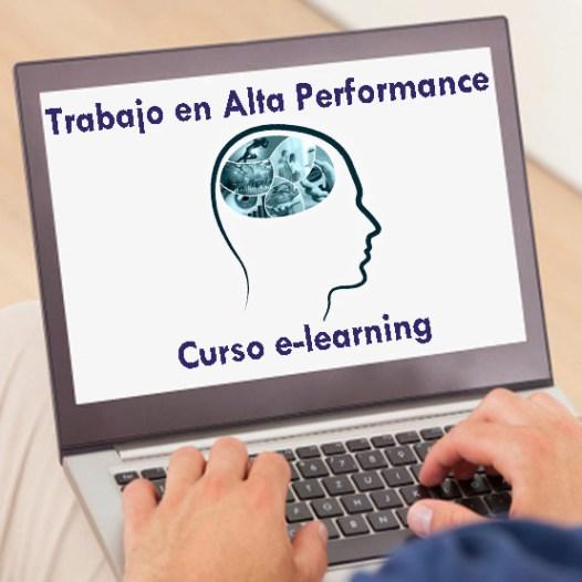 "Curso e-learning – ""Trabajo en Alta Performance"""