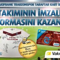 İmzalı Trabzonspor forma kampanyası
