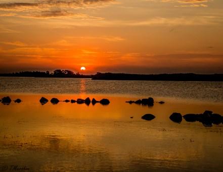 Sunset at Back Bay NWR