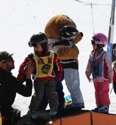 Les Marmotton ski school mascot