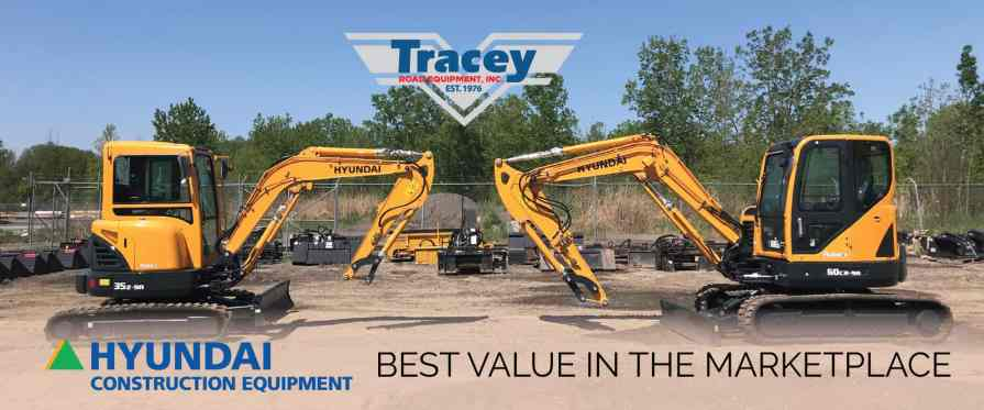 Hyundai Compact Excavators - Best Value In The Marketplace!