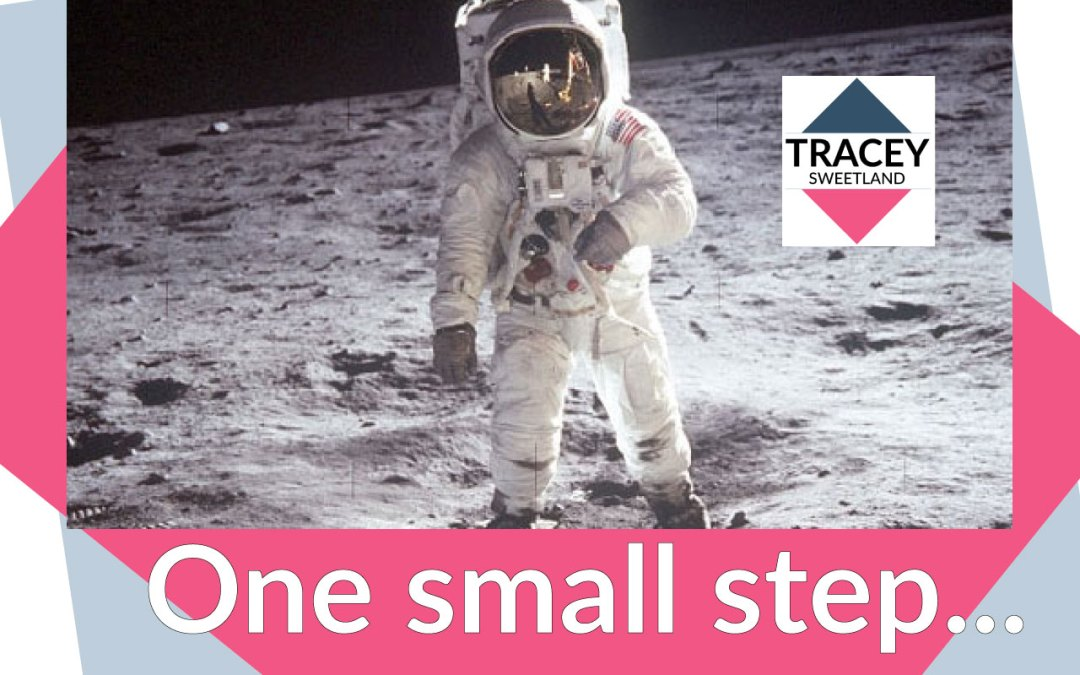 One small step, one giant leap…
