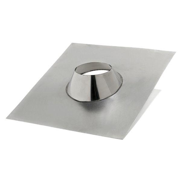 solin d etancheite cheminee en inox pour toit plat diametre 200