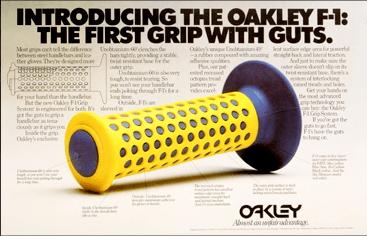 Small Ideas become Big Oakley Grip