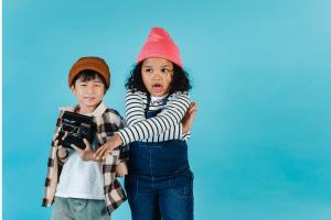 to get great children photos