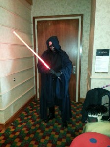 Darth cosplay at illogicon 2013