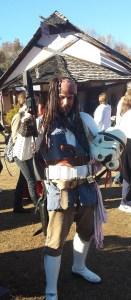Captain Jack Sparrow Stormtrooper Cosplay