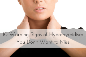 signs of hypothyroidism, symptoms of low thyroid