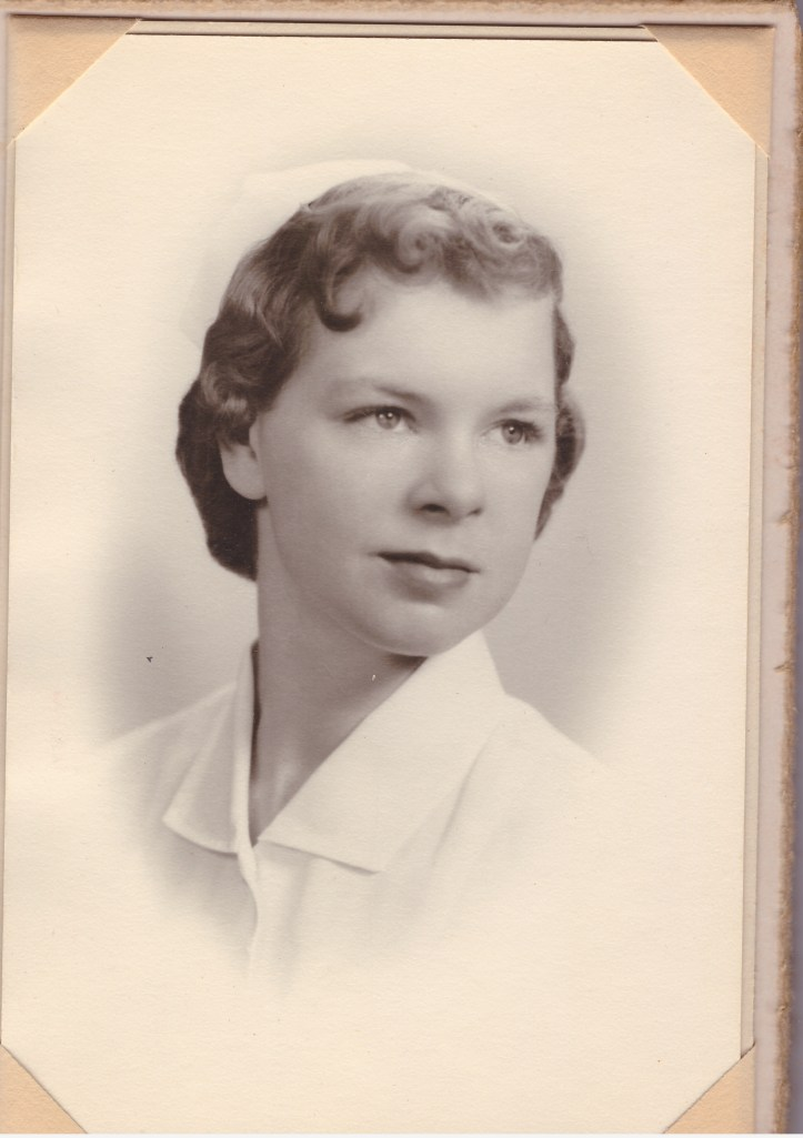 Mom's Nursing Graduation Photo