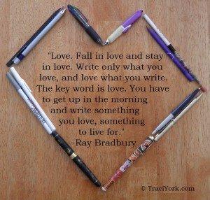 Monday Love writing
