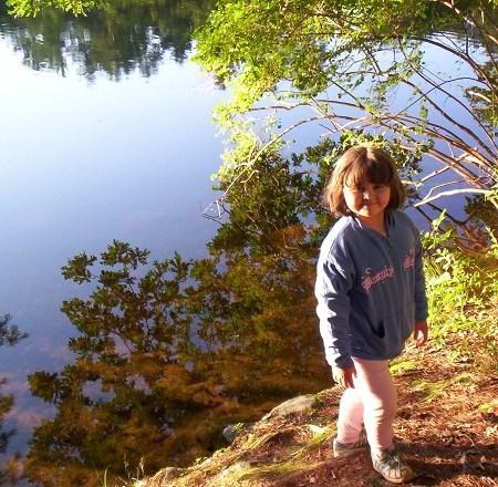 2008, July camping Ciara