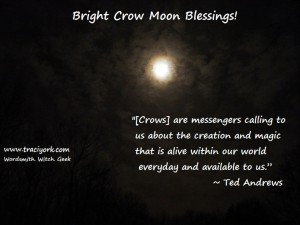 Crow Moon Blessings