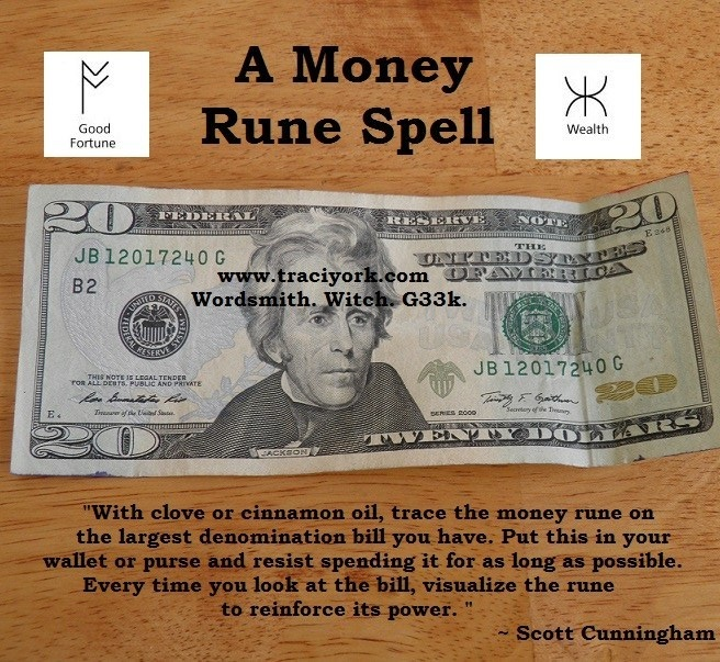 Cunningham money spell