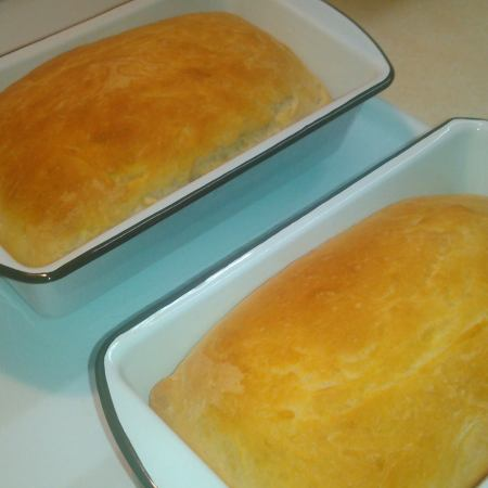 Pair of loaves from December, 2014