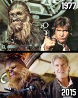 Chewbacca and Hans