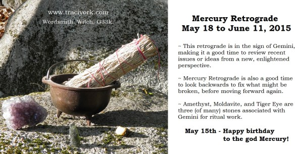 Mercury Retrograde May 18 2105