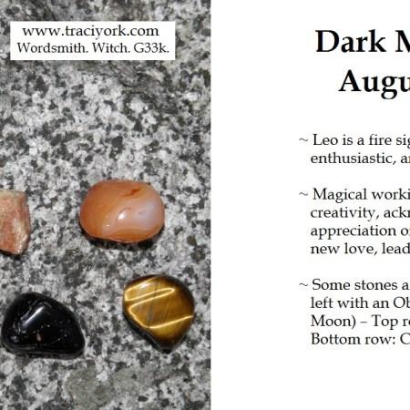 August 2015 - Dark moon in Leo