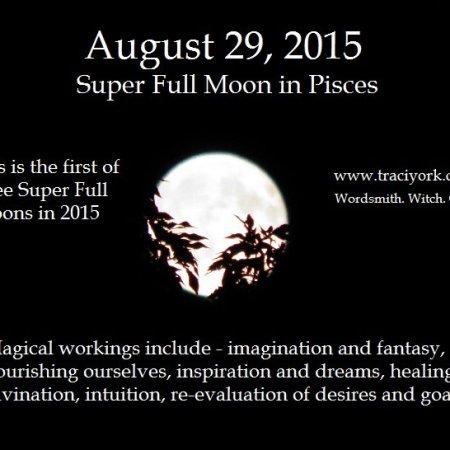 Pisces Super Full Moon