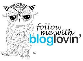 Follow me with Bloglovin'