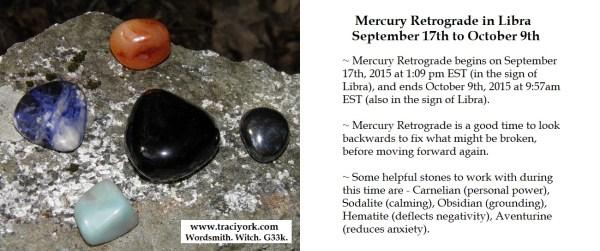 Mercury Retrograde stones