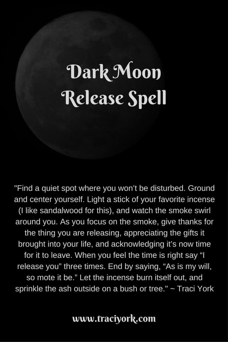 Dark Moon Release Spell
