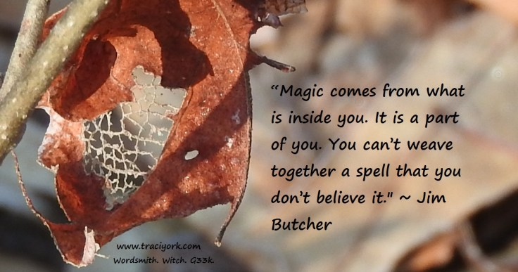 Jim Butcher Magic quote