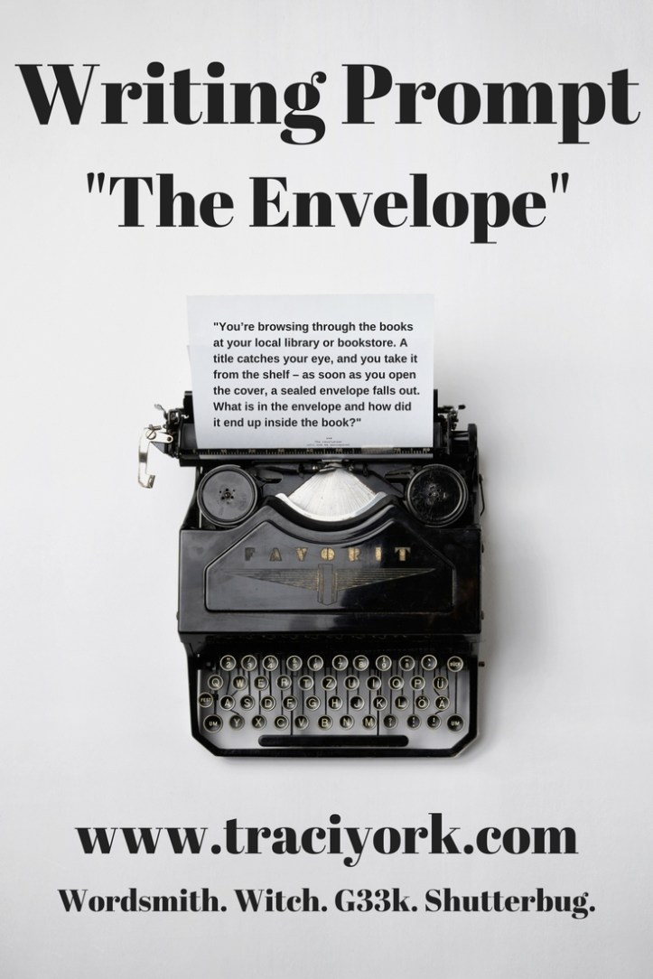 New short story - Envelope Writing Prompt