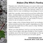 Mabon Ritual