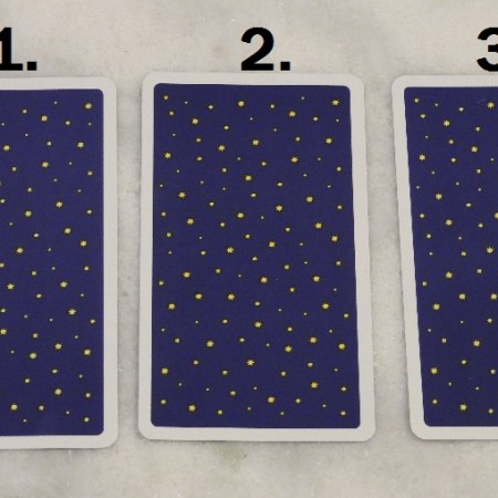 October 25th Free Tarot Card Reading, back