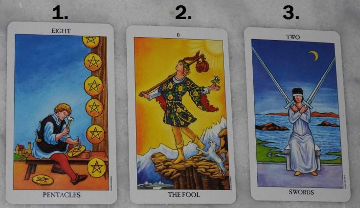 December 13th Free Tarot Card Reading, front