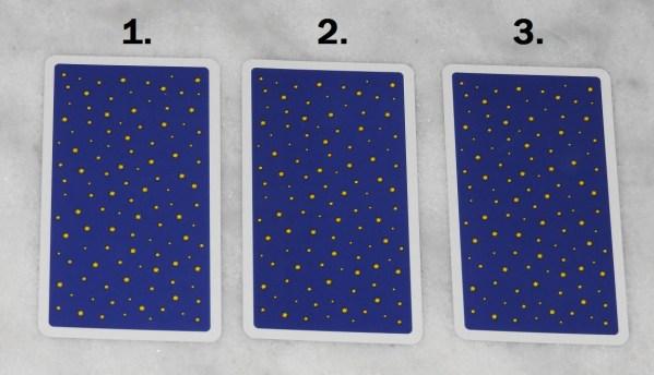 December 27th Free Tarot Card Reading, back