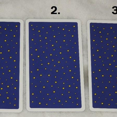 December 6th Free Tarot Card Reading, back