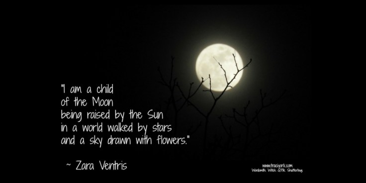 Child of the moon quote