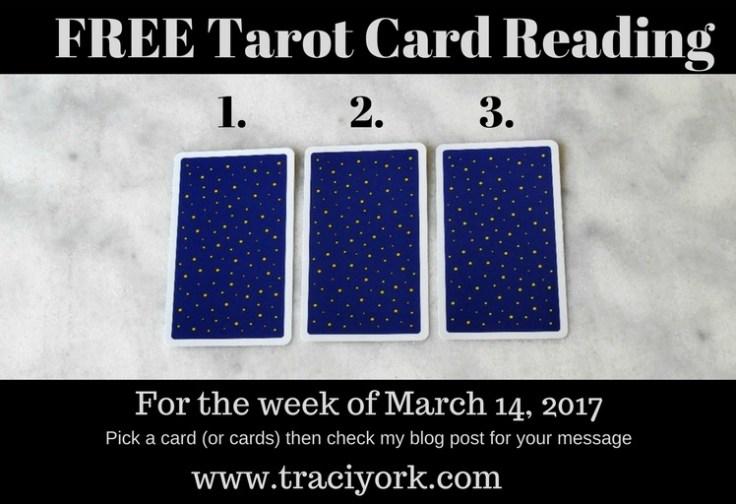 March 14 2017 Tarot