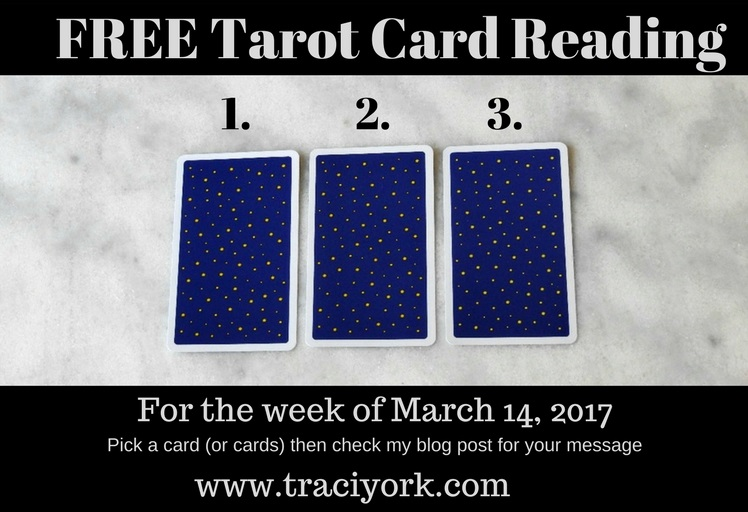 March 14 2017 Tarot