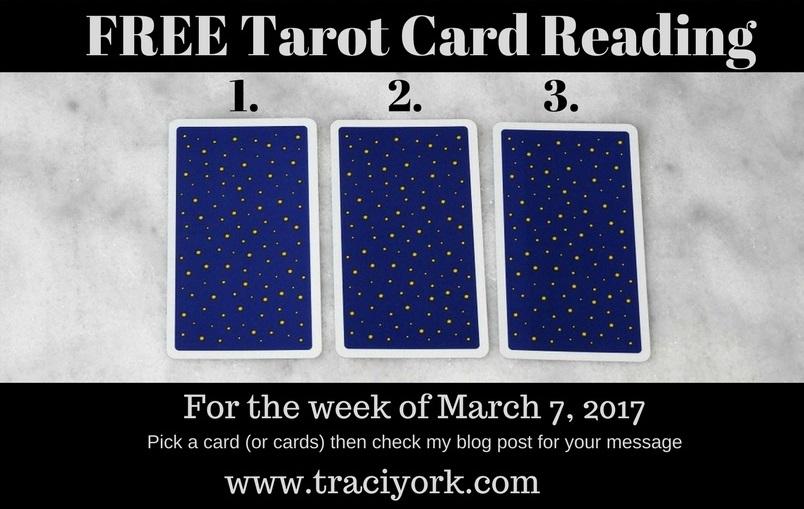 March 7 2017 FREE Tarot Card Reading blog graphc