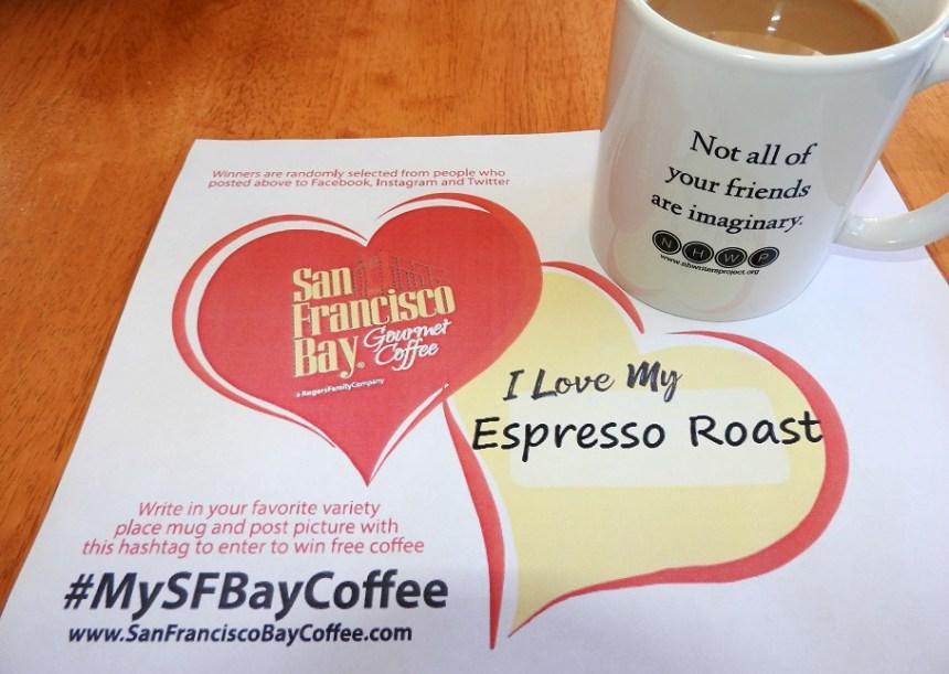 Mug selfie SFB Coffee